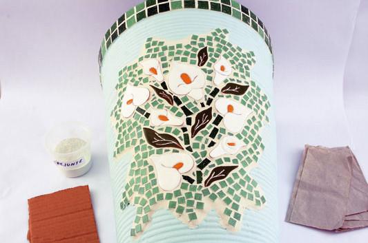 декорирование мозаикой