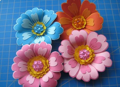 Цветы своими руками 3 д