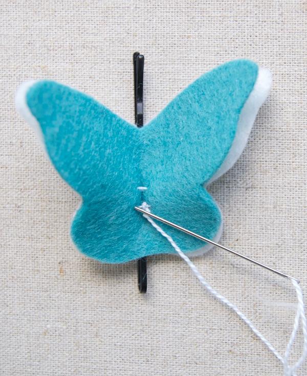 Украшение из бабочек своими руками