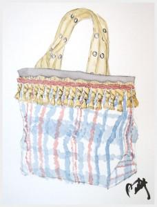 Украшение сумки