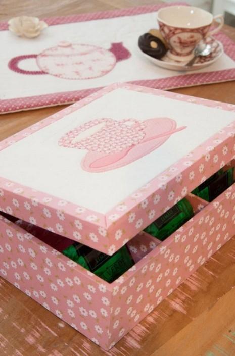 Коробка для чая своими руками