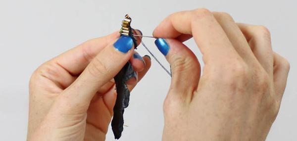 Как сделать серьги