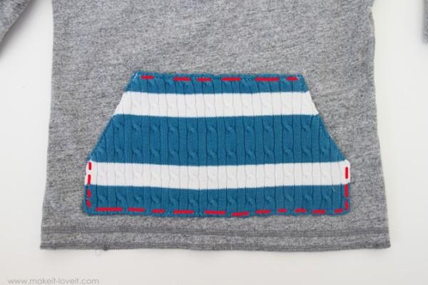 Декор из старого свитера