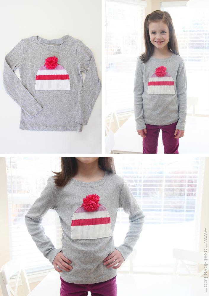 Варежковый реглан:), или забавные переделки свитеров от Ashley - Make it & Love it. . Мастер-класс