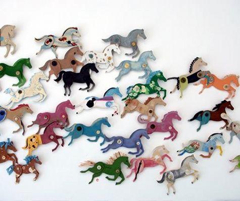 Лошадь-украшение