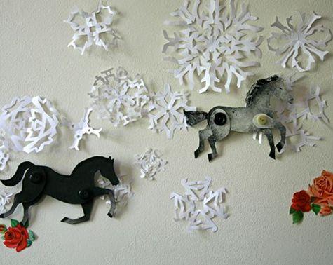 Декоративная лошадь