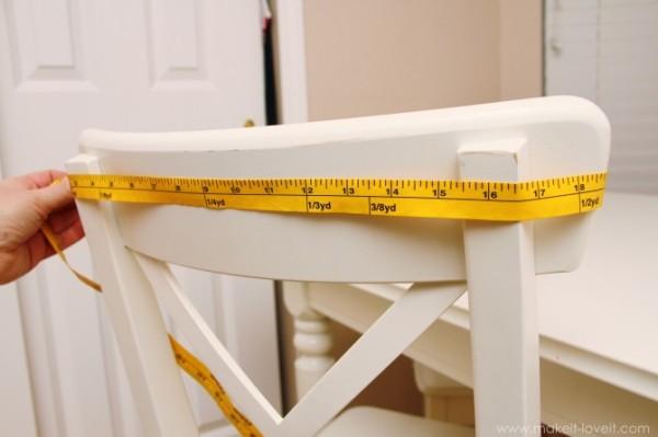 Как украсить стулья