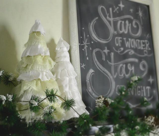 Декоративные новогодние елки