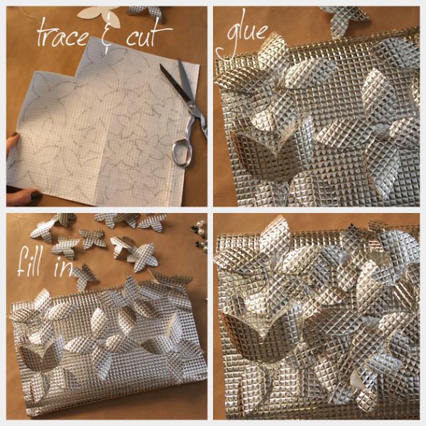 Как сделать клатч из фольги