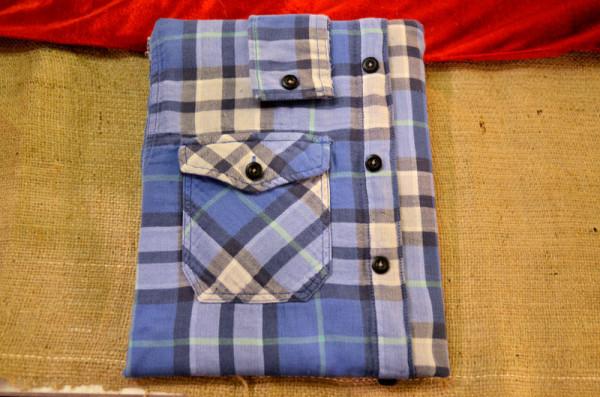 Чехол для IPad из мужской рубашки