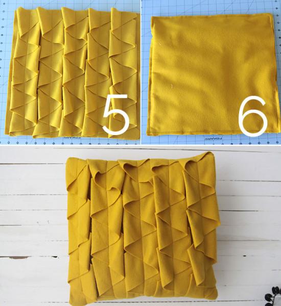 Как сшить декоративную диванную подушку