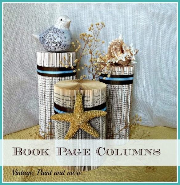 Домашний декор из книги