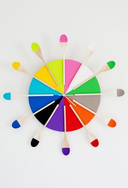 Декоративные часы для кухни