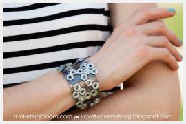 Стильный браслет своими руками