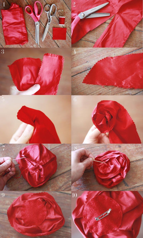 Аксессуары из ткани своими руками