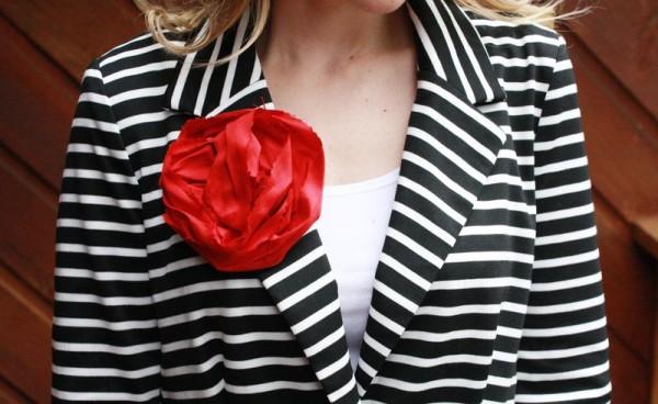 Шелковая роза за 5 минут