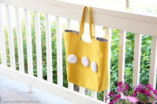 Прочная летняя сумка