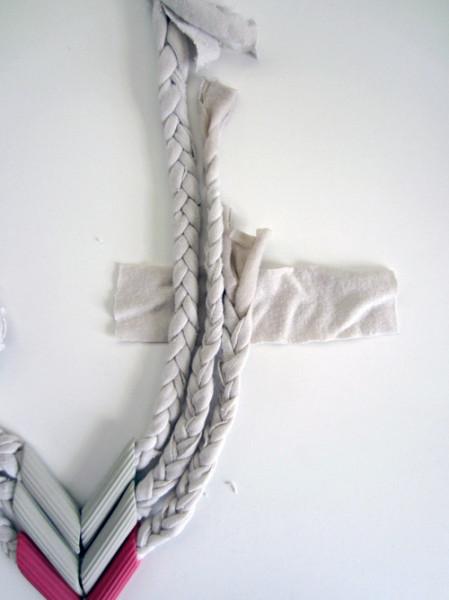 Ожерелье из макарон
