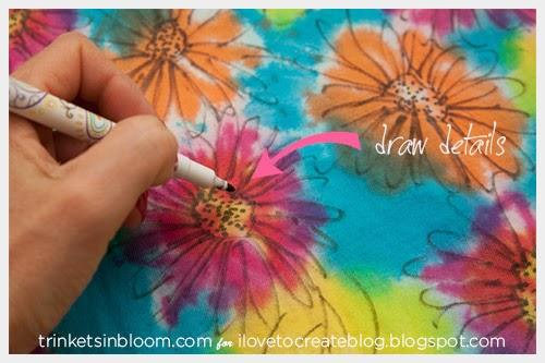 Как раскрасить сумку