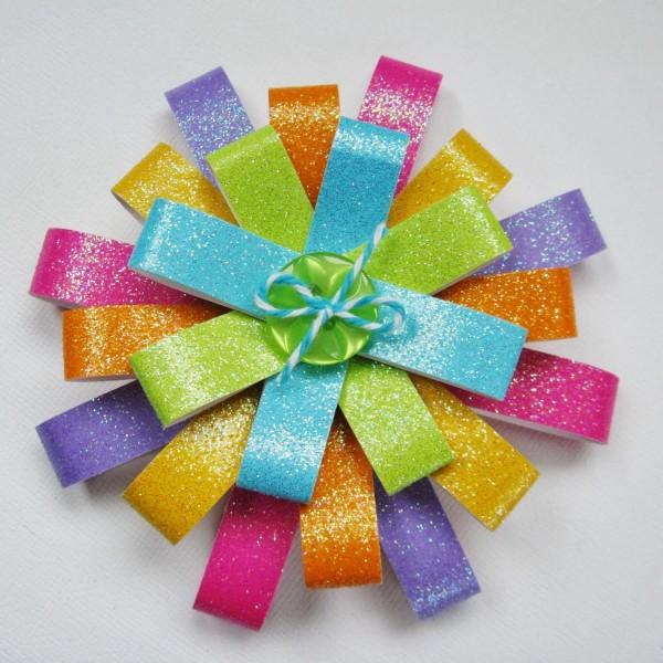 Декоративный бант для подарка
