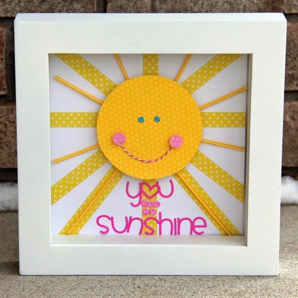 Панно-солнышко для детской