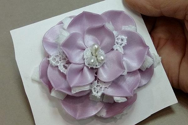 Лепной цветок для украшений