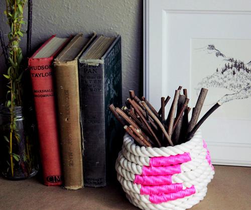 Декоративная ваза своими руками