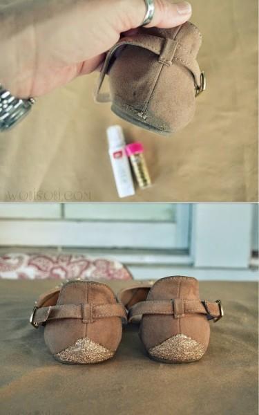 Как преобразить старую обувь