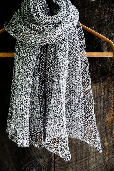 Летний шарф своими руками