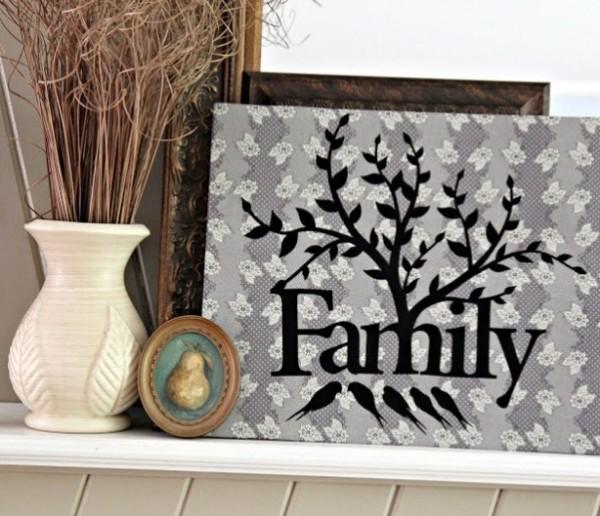 Панно Семейное древо