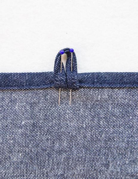 Торбочка из джинса для ланча
