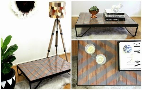 Декоративный столик для гостиной