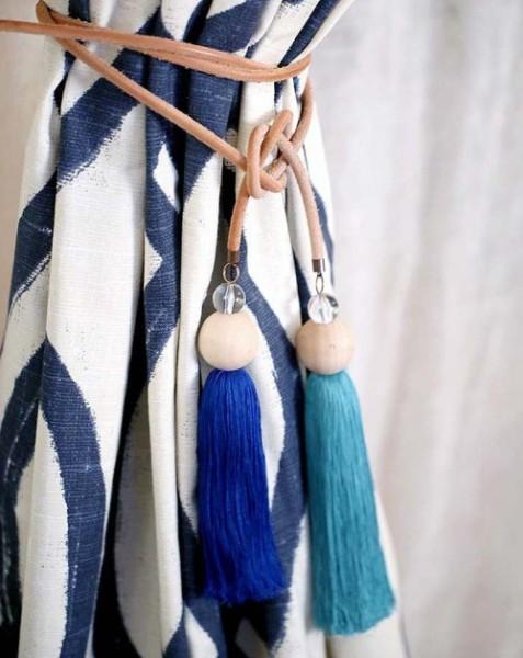 Декоративные завязки для штор