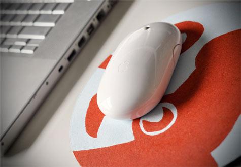 Как украсить коврик для мышки