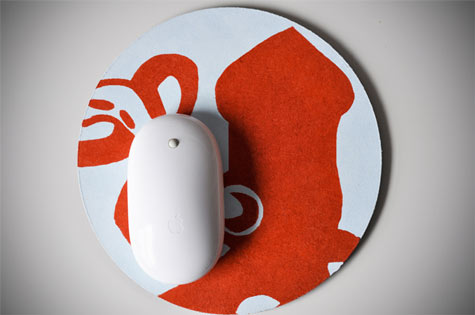 Декоративный коврик для мыши