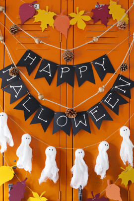 Идеи украшений на Хэллоуин