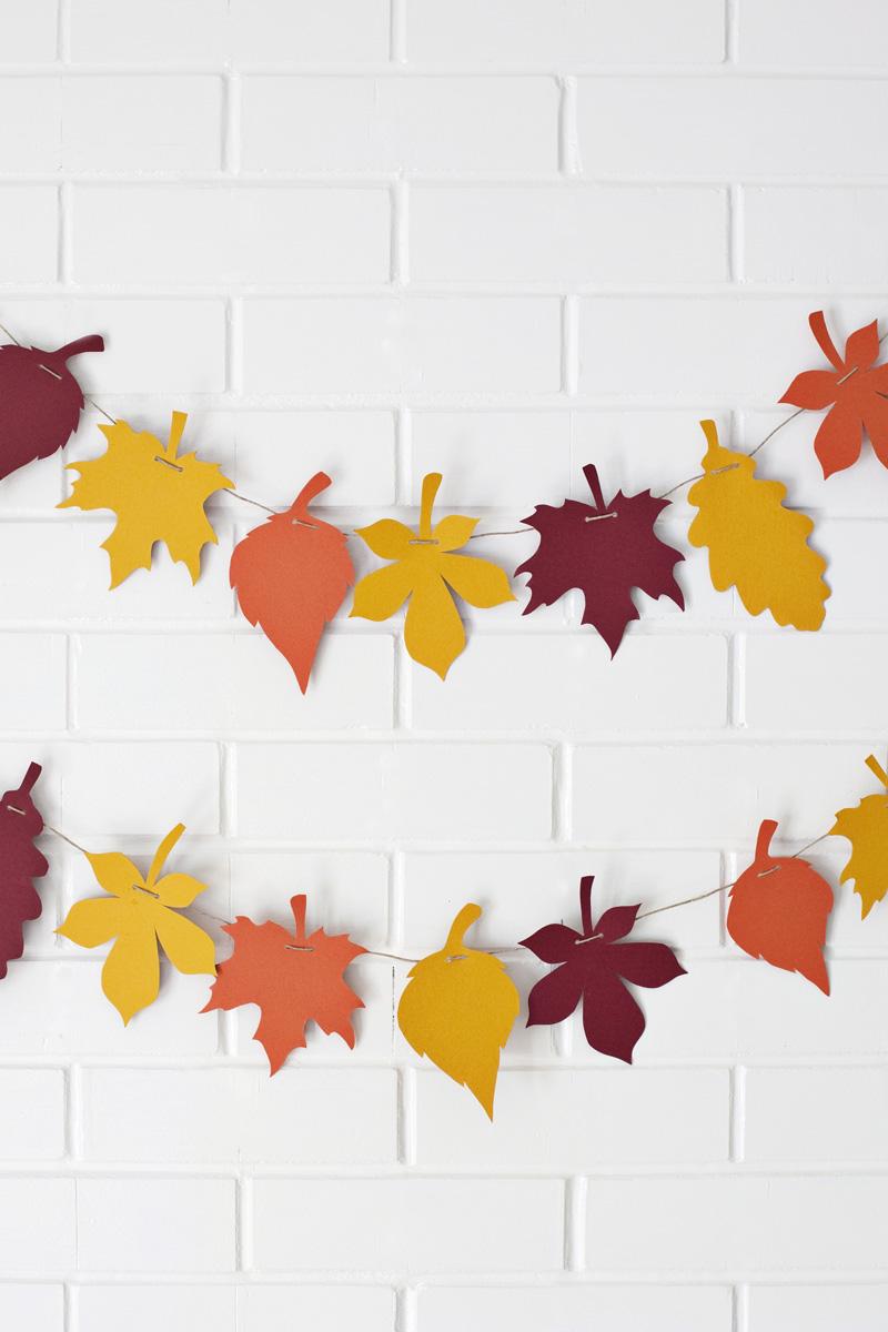 Осенние растяжки своими руками