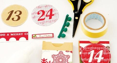 Как сделать адвенс календарь