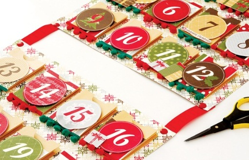 Новогодний календарь для сюрпризов