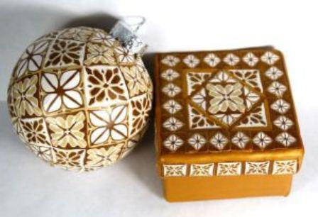 Декор лепниной из глины