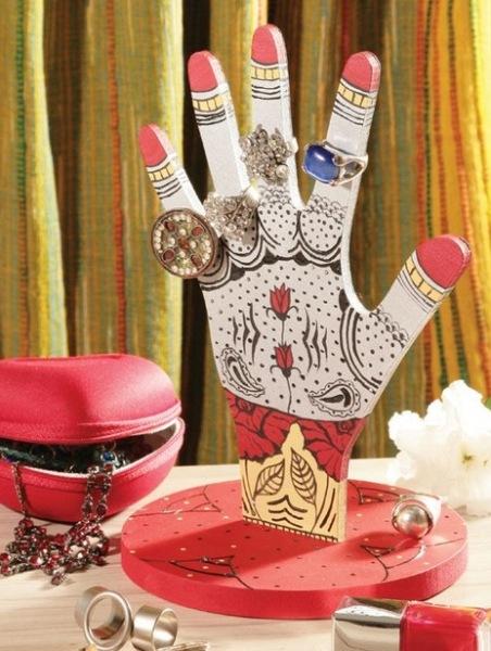Подставка для украшений своими руками
