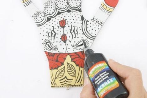 Как декорировать подставку для украшений