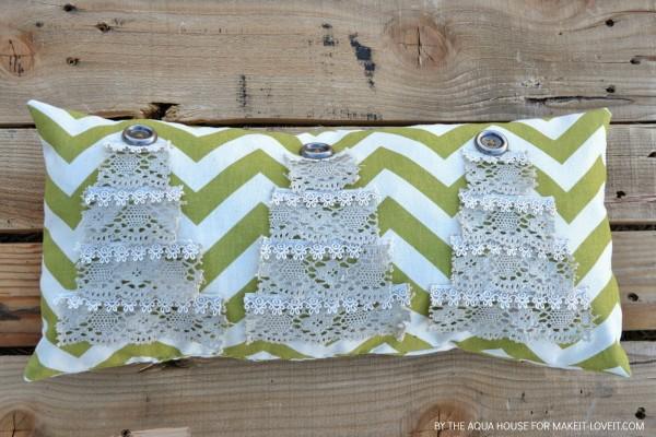 Идеи для украшения подушек