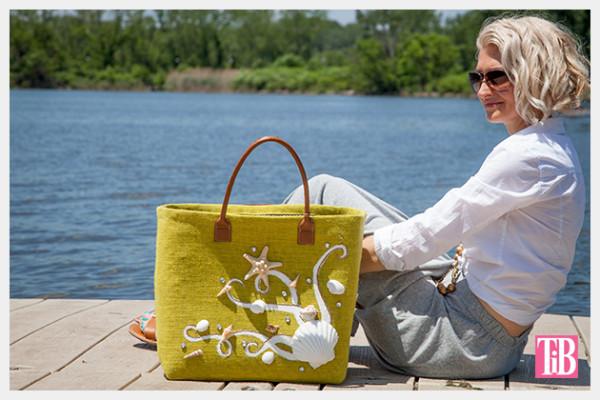 Декор летней сумки