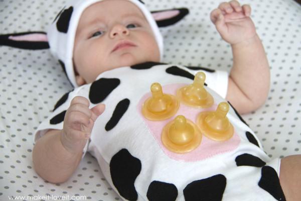 Новогодние костюмы для младенцев