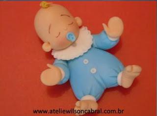 Декоративная фигурка малыша своими руками