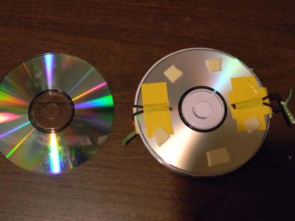 Интересные поделки из старых дисков своими руками 17